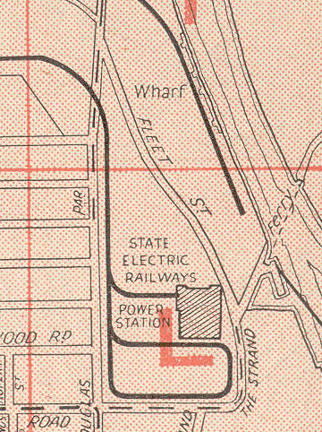 Newport Power Station in the Morgan's Street Directory
