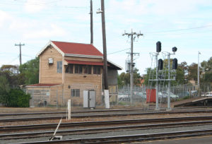 Geelong C Signal Box