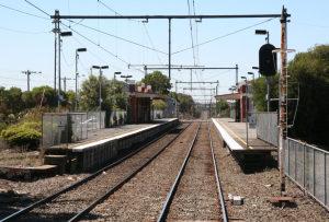 Spotswood railway station